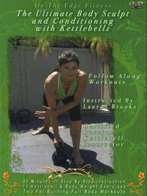 Lauren Brook Kettlebell Workout DVD