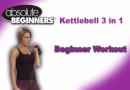 Amy Bento 3 in 1 kettlebell workout dvd for beginners