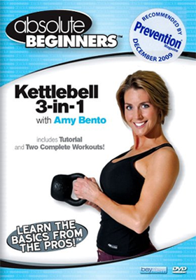 Amy Bento 3 in 1 dvd Kettlebell workout