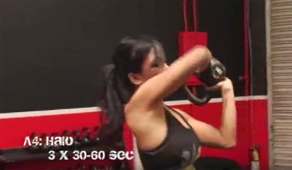 Beginners Kettlebell Exercise