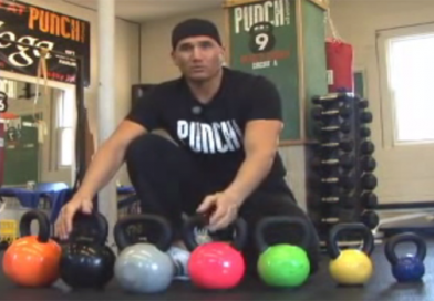 Beginners kettlebell right size