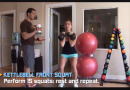 Kettlebell Front Squat Exercise for Weight Loss