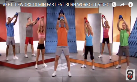 Kettleworx Fast Fat Burn workout