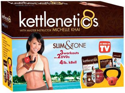 Michelle Khai Kettlenetics Slim Tone kit