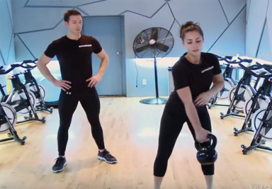 Watch video for Womens Kettlebell Workout Training